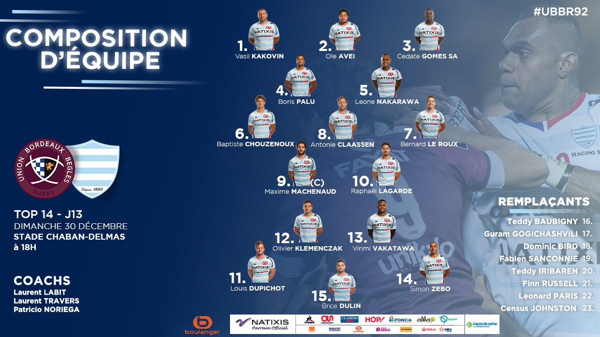 Top14 - 13ème journée : UBB / Racing 92 - Page 2 DvmHy9nWoAA4KJV