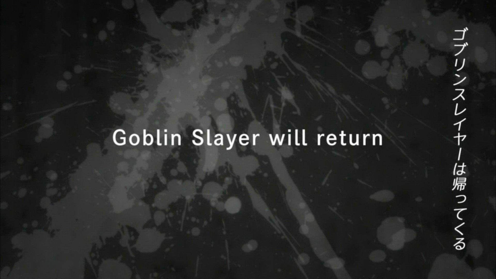 Goblin Slayer | Final do ultimo episódio revela mensagem para os fãs