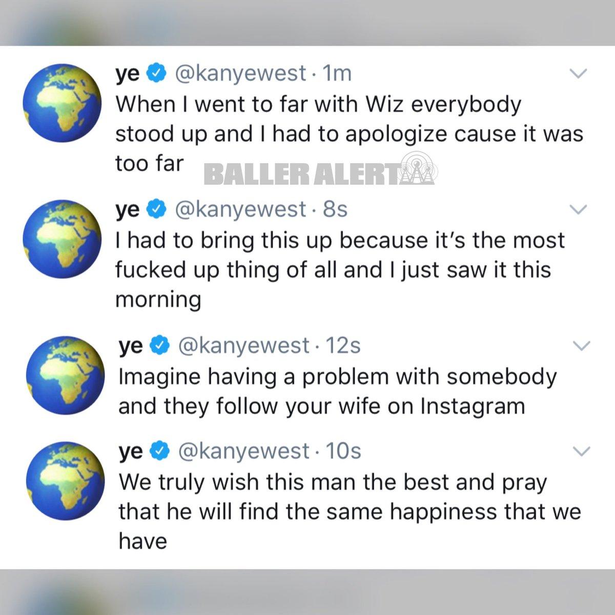 Kanye West ataca novamente Drake após descobrir que canadense seguia Kim Kardashian no Instagram