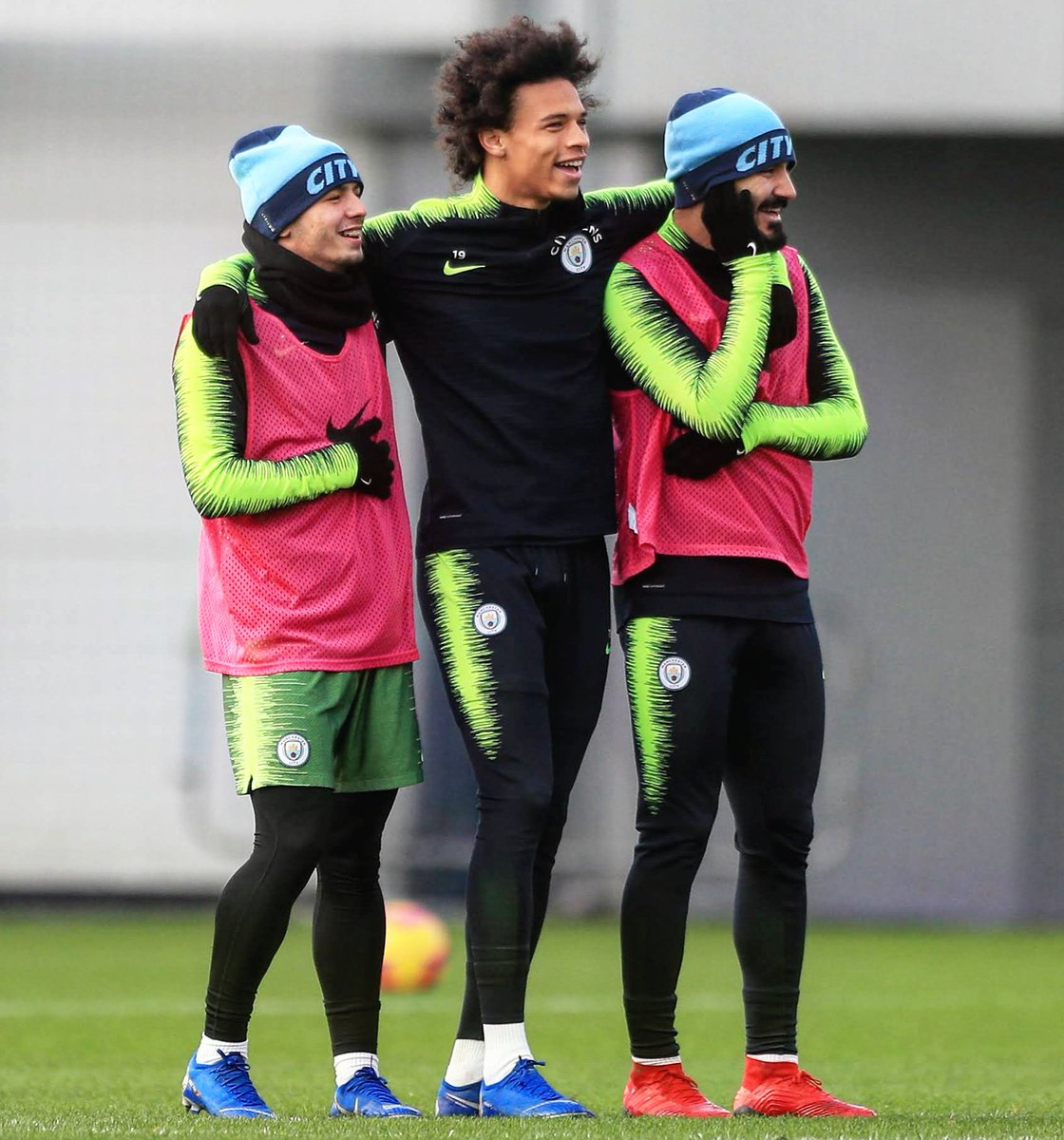 Let's get back on track 2morrow 🔥⚽🔥 #together #inSané #LS19 @ManCity