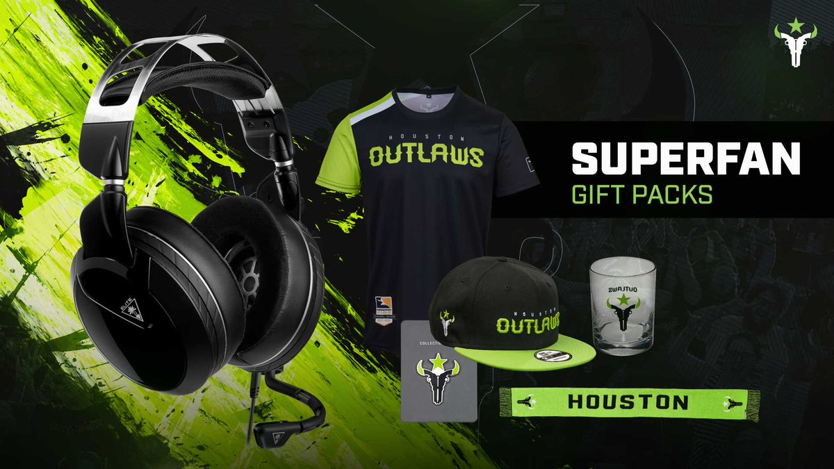 Houston Outlaws x @TurtleBeach End Of Year Sweepstakes!  You can win: - An Elite Pro 2 + SuperAmp for Xbox/PS4 OR Elite Atlas for PC! - An Outlaws Floral Hoodie! - An Outlaws OWL Gear Pack!  RT, Follow, & Enter here! http://bit.ly/TBOutlawsGiveaway …