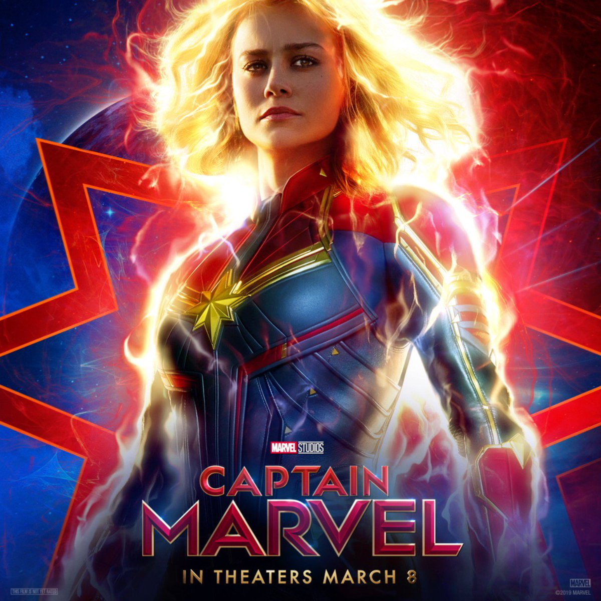 Are you ready, 2019? #CaptainMarvel