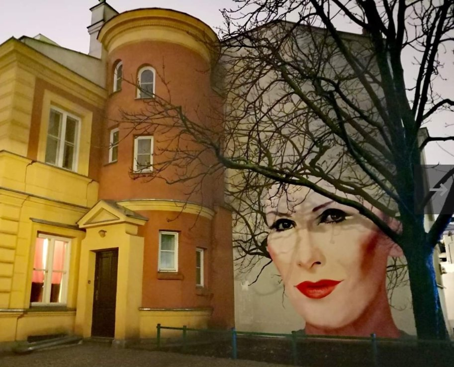Szymon Komorowski V Twitter Mural Kory Przy Ul Nowy Swiat W