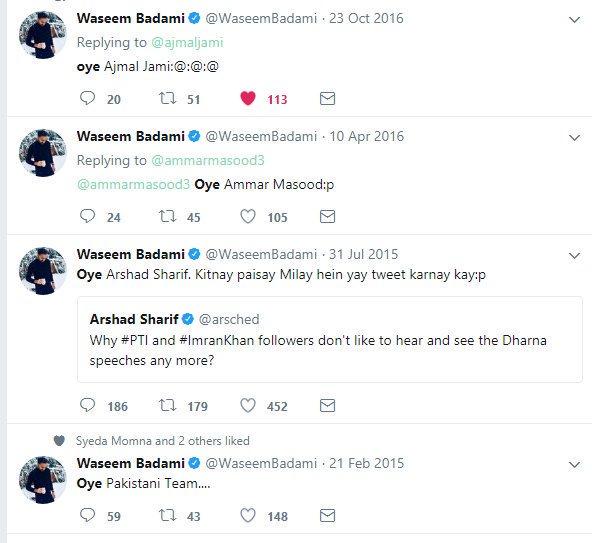 oyé hashtag on Twitter