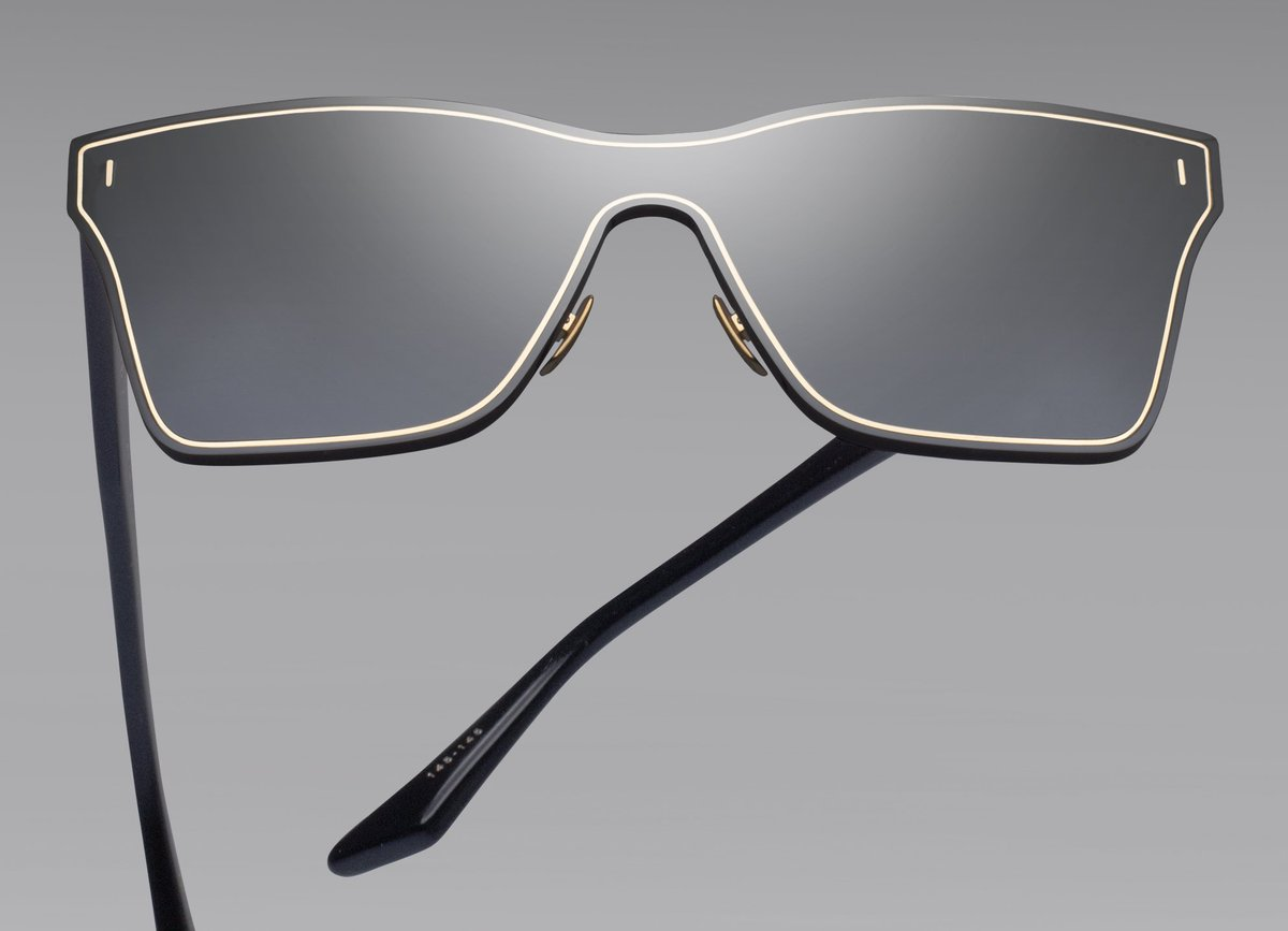 2389677859b9 Silica anticipates the commingling of man and machine with a sleek 2-base  lens shield that undulates with organic grace.  DITAeyewear  DITA sunglasses  ...