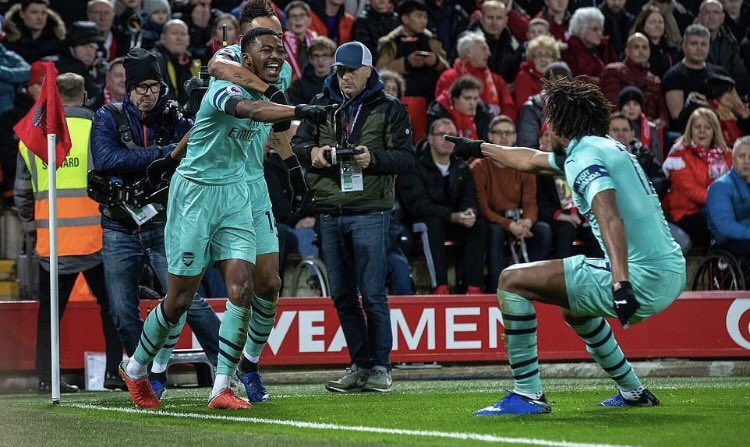 DvnAXRWWsAAN5mk - Iwobi The Only Shining Light In The Match – Fans Reactions To The Nigerian Display Against Liverpool Would Leave You Proud