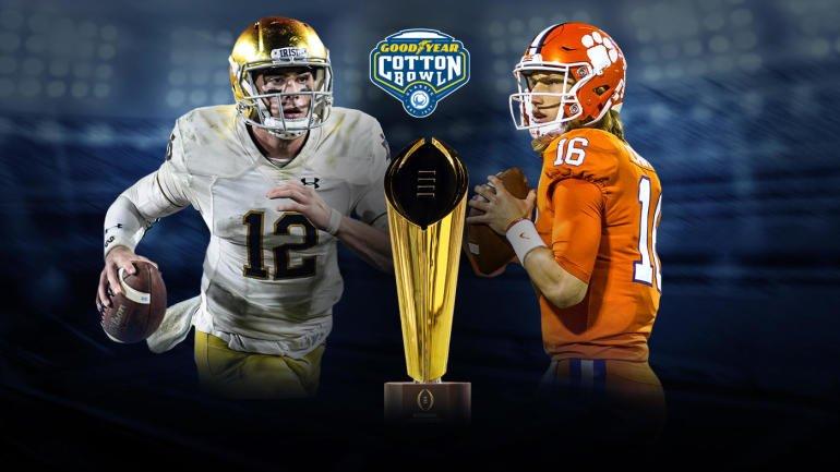 College Football On Twitter Clemson Vs Notre Dame Score