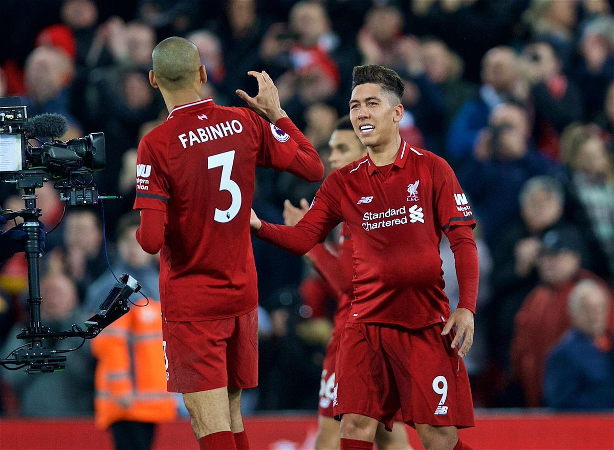 One more important win. We're on our way! Congrats, lads! Specially to my bro Firmino 👏🏽👏🏽⚽️⚽️⚽️ #YNWA #LFC