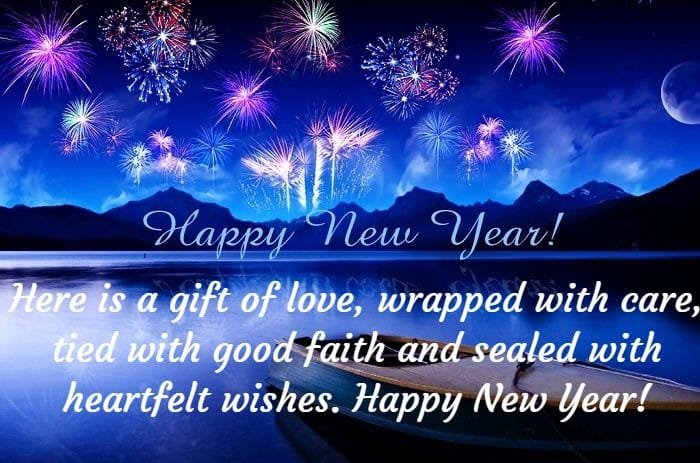 christmas gifts on happy new year quotes