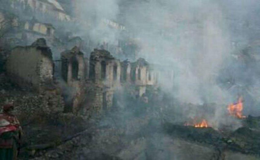 कालिकोटमा ८७ घर जलेर नस्ट भएकै ठाउँमा एकीकृत बस्ती निर्माण गरिने