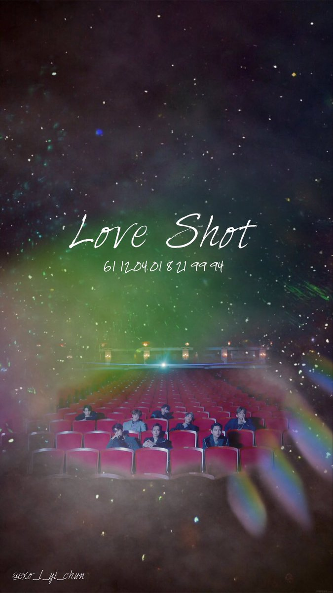 Mu 莯依 On Twitter 181230 It S The Love Shot Exo Loveshot Exoloveshot Wallpaper Exowallpaper