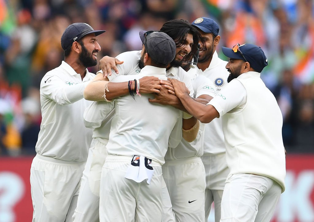 India On Top While New Zealand Advance To Third In Test Rankings