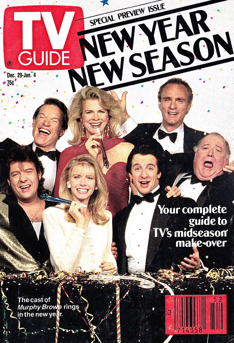 Retronewsnow On Twitter Tv Guide Cover December 29 1990