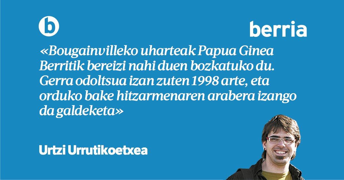 '2019, urrun begirada', @urtziurruti-ren #LekuLekutan  https://www.berria.eus/paperekoa/1925/017/001/2018-12-30/2019_urrun_begirada.htm…