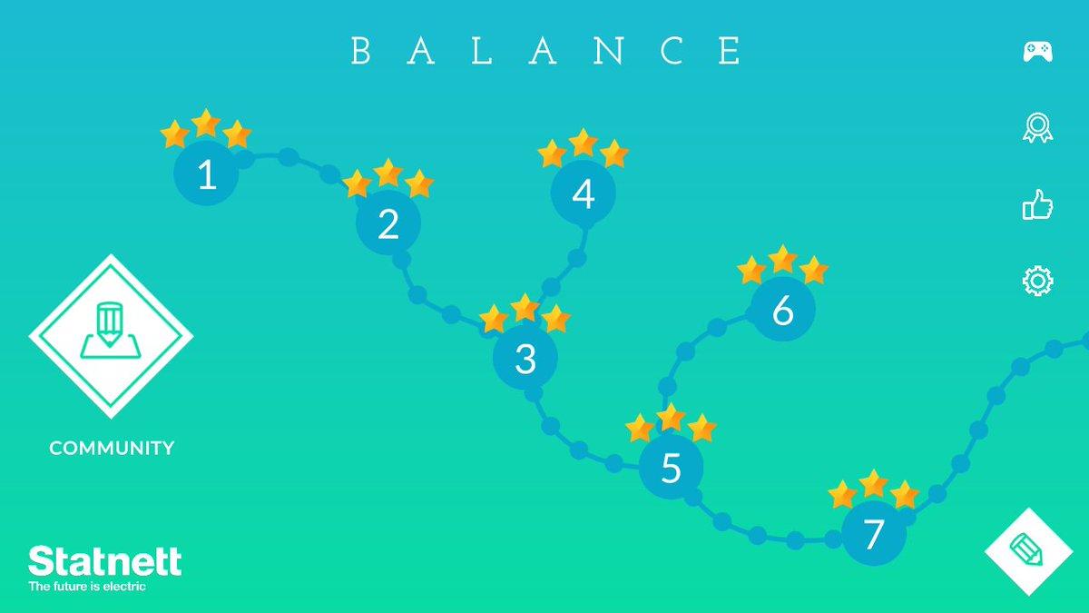 Balance เกมพัซเซิลที่ว่าด้วยเรื่องของไฟฟ้า โดยตัวเกมจะให้เราทำตั้งแต่ปล่อยกระแสไฟฟ้าให้อยู่ในเกณฑ์ที่พอดี ติดตั้งเสาไฟฟ้าและคอยควบคุมไม่ให้overloadหรือคอยแก้เมื่อเกิดเหตุขัดข้องกระทันหัน นับว่าสนุกและท้าทายดี คอพัซเซิลไปลองกันดูนะ #แอพดีบอกต่อ #เกมดีบอกต่อ