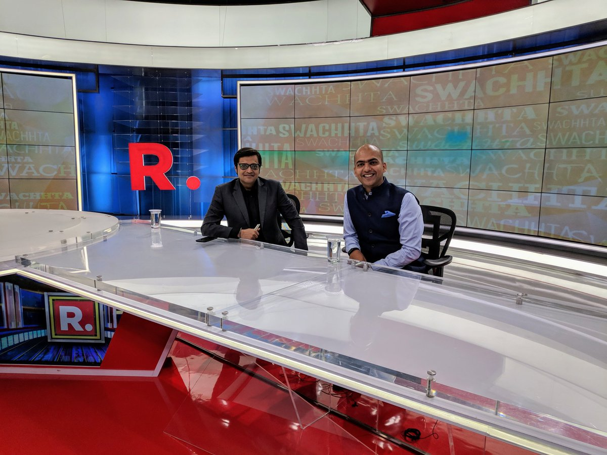 Manu Kumar Jain On Twitter Great Talking To Arnabgoswami Republic Tv About Xiaomiindia My 1st Time In A Studio Discussed Abt Our Social Initiatives Partnership With Behtarindia Xiaomi Is Providing