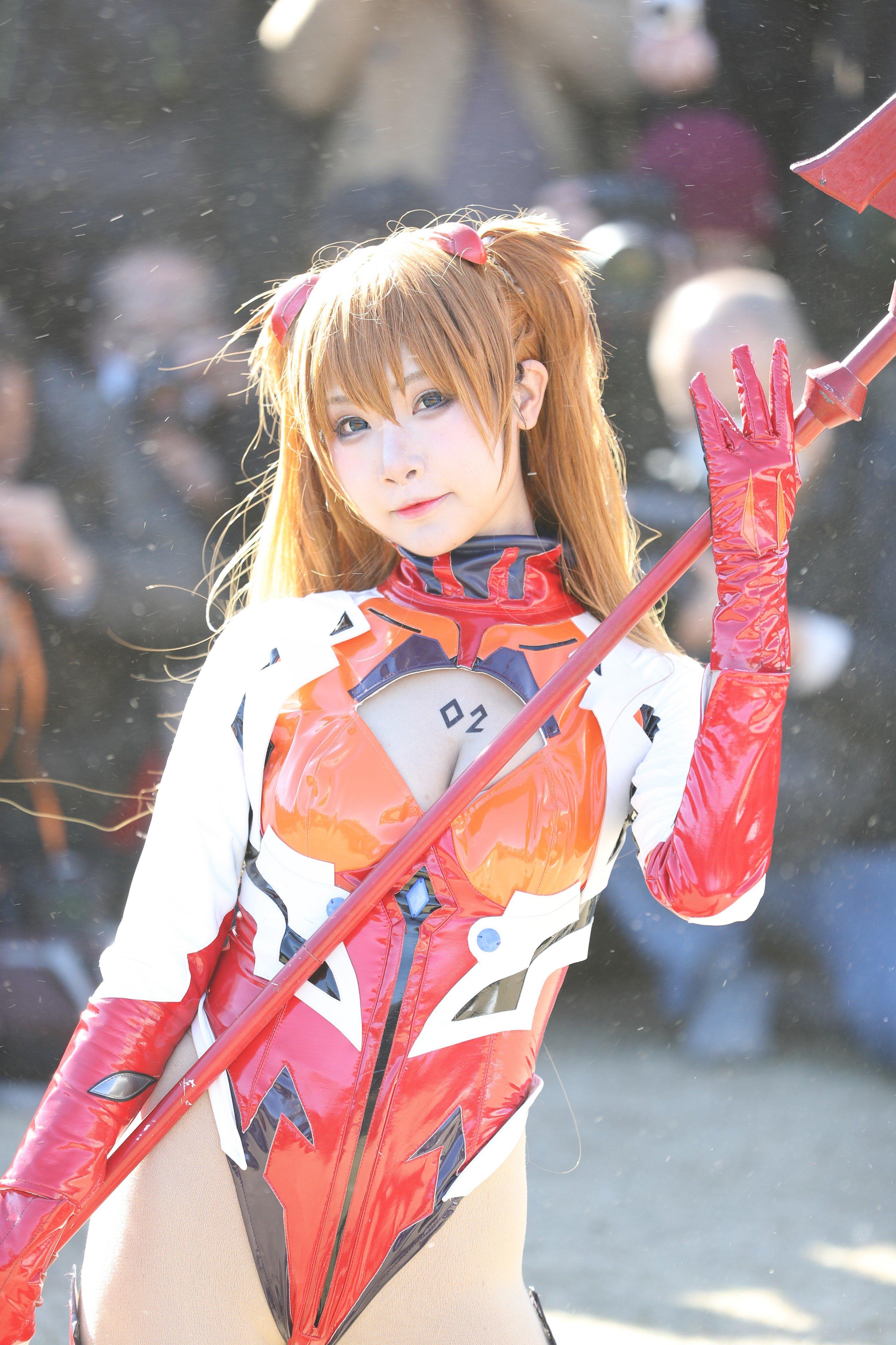 画像,2018.12.30 コミケ2日目③モデル:小柔SeeU(@seeu_cosplay )Canon1dxmark2 CanonEF24-70mm F2.8L I…