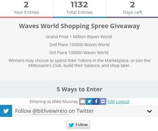 Waves World (Blockchain) on Twitter: