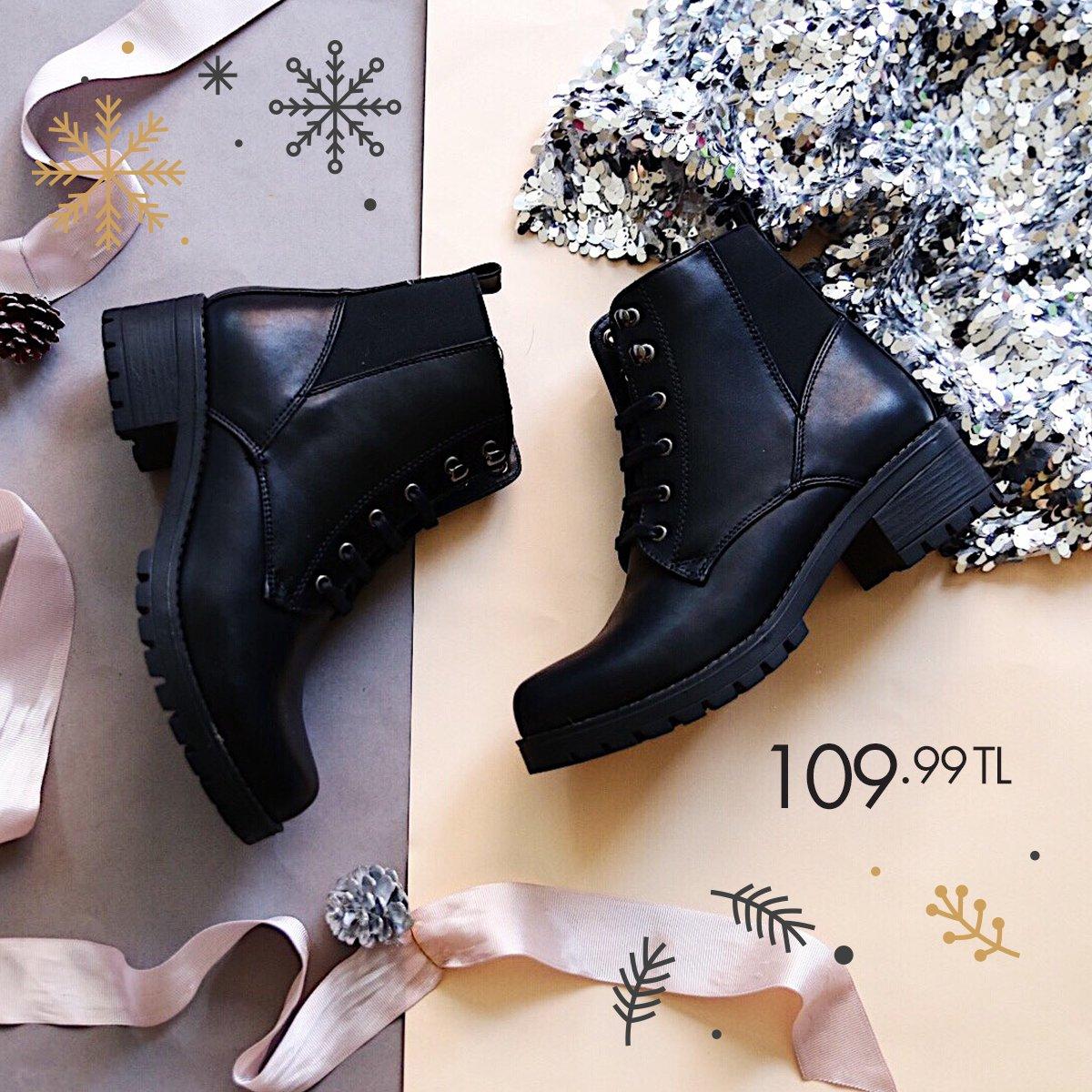 Sezonun en tarz ve trend kadın botları ile rahat ve şık tarzını öne çıkar. Siyah Kadın Bot 36-40 Numara 109,99 TL 🔎 100320701 http://bit.ly/2ViRFJJ