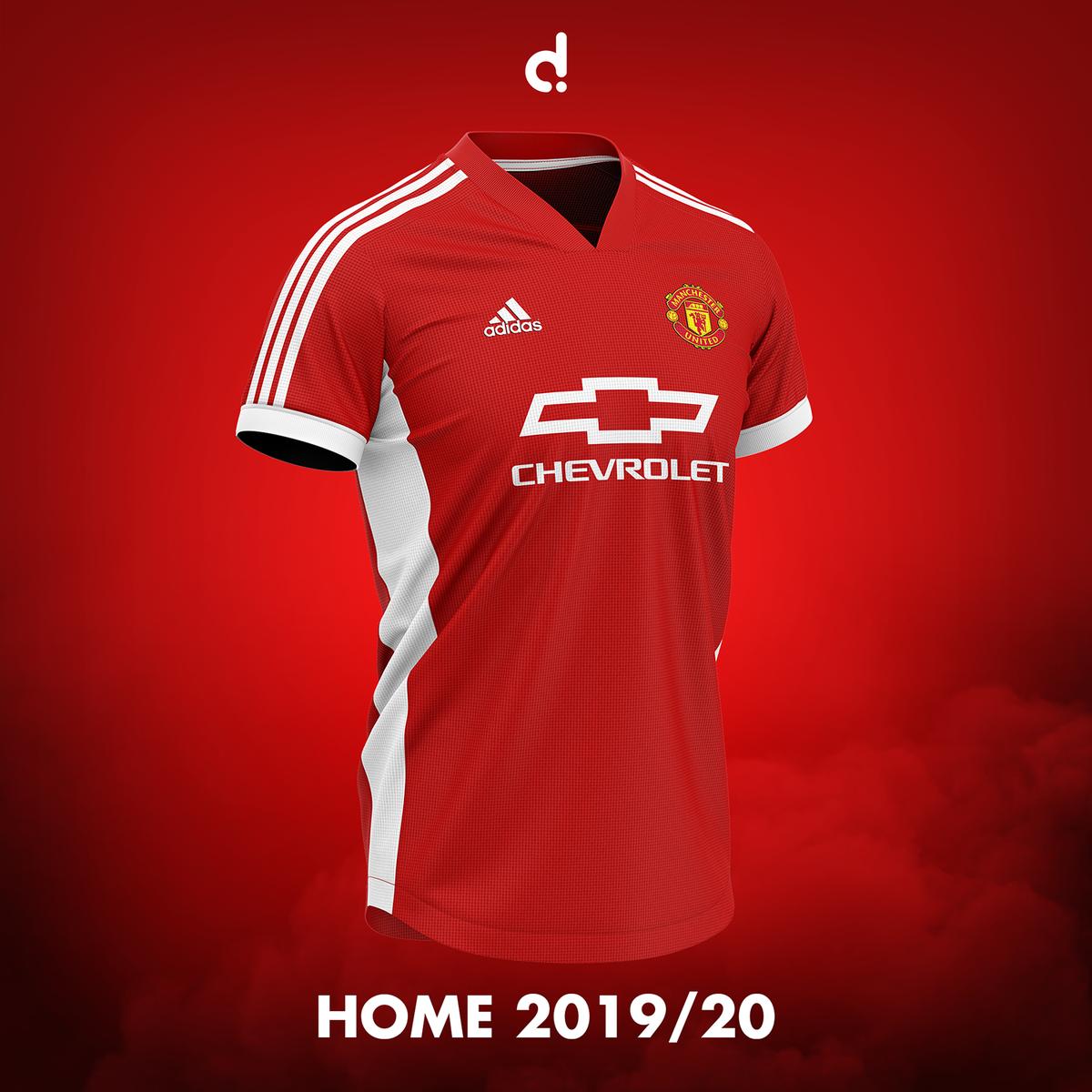Dom On Twitter Home Kit For The 2019 20 Season Manutd