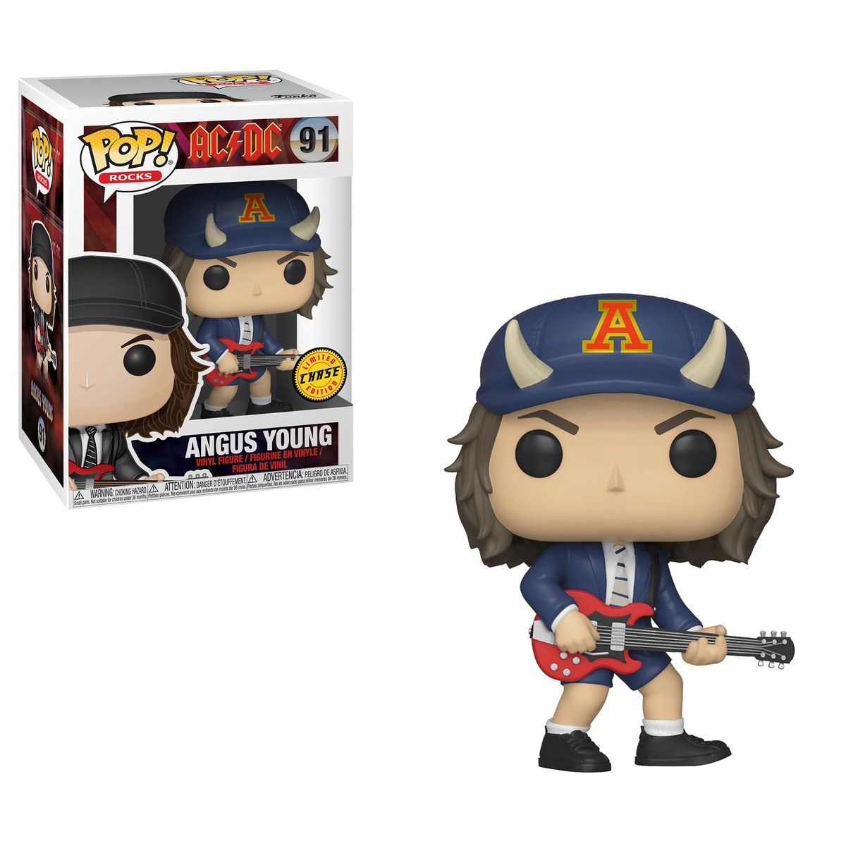 RT & follow @OriginalFunko for the chance to win a CHASE Angus Young Pop!
