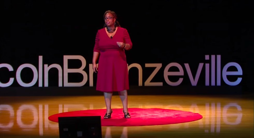 Tedx On Twitter There S An Assumption That In The Black