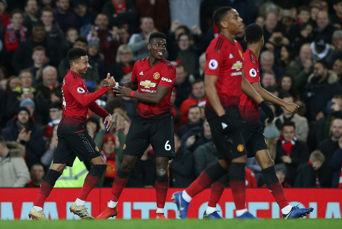 What A Way To End 2018 🙌🏾🔥 #MUFC #OnTheUp https://t.co/SP1zauRnY1