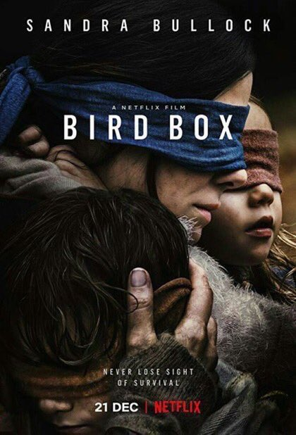 Twitter Moments On Twitter Bird Box A Quiet Place And Hush Have
