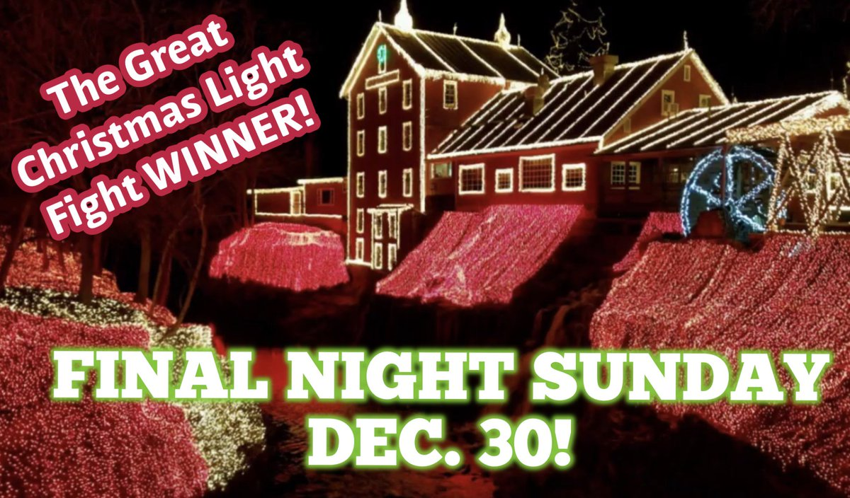 Clifton Mill Christmas Lights.Clifton Mill Thecliftonmill Twitter