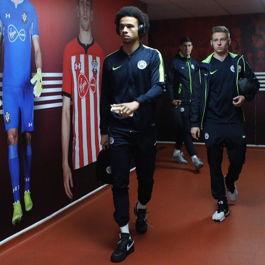 We're taking three points back home to Manchester 🔥⚽🔥 #inSané #LS19 @ManCity