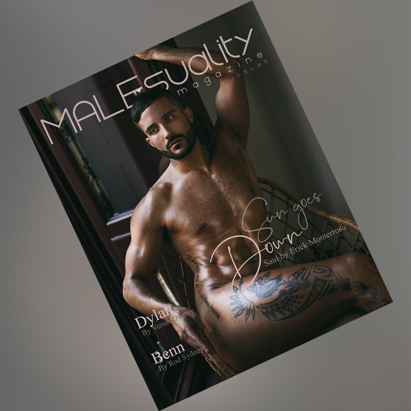Issue 9 of #MALEsualityMagazine available NOW! 🤩With the work of @emonterrosafoto, @vernerdegray and @rodsydney.  🙌 🔞 http://malesuality.com/mag