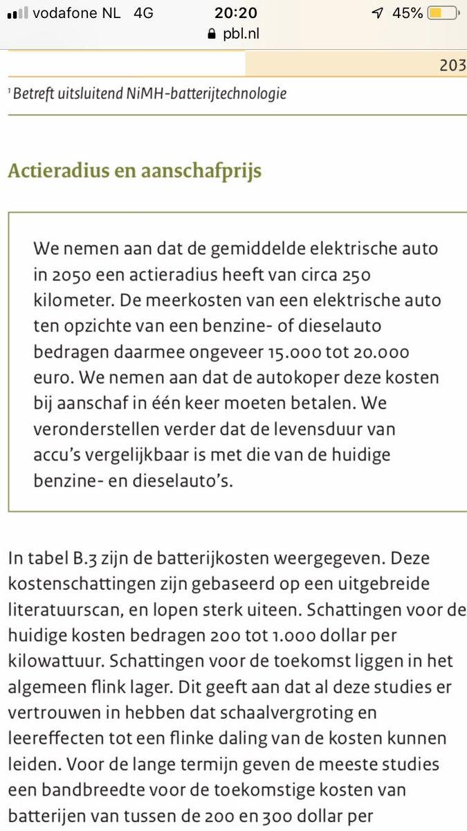 Pieter Omtzigt On Twitter Het Planbureau Voor De Leefomgeving Deed