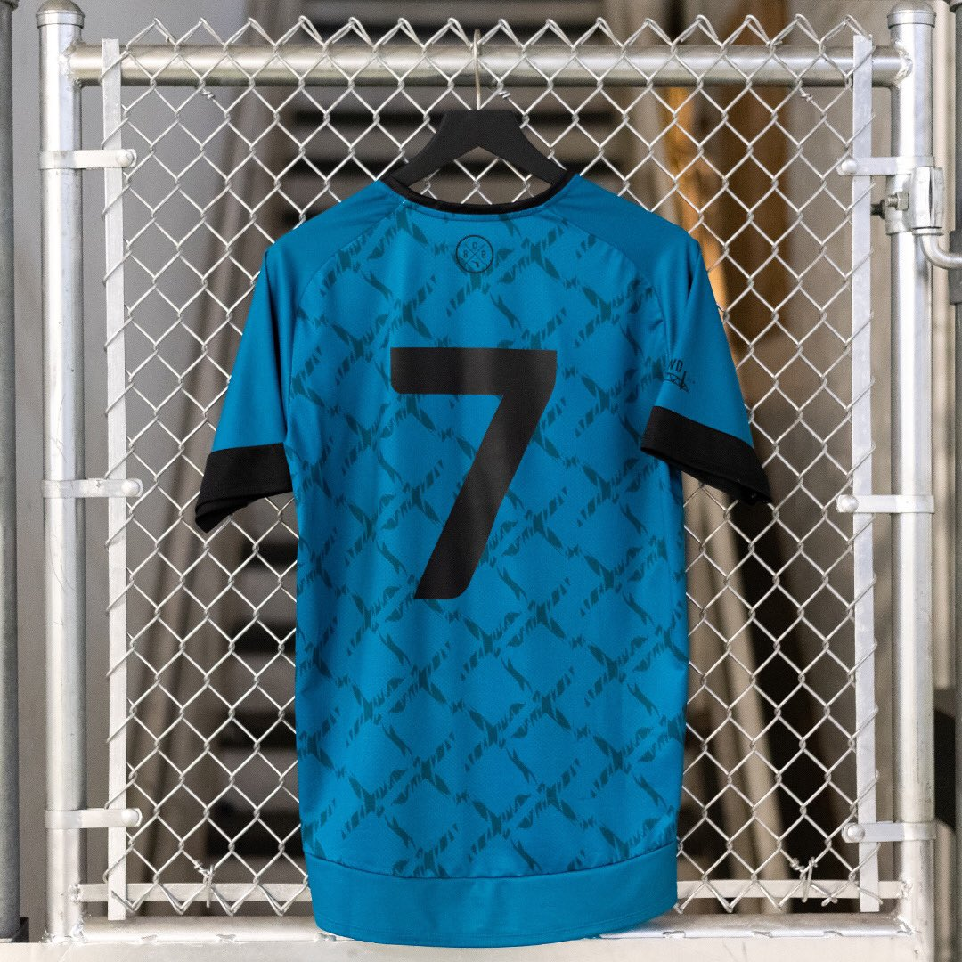 A new type of football kit.  jaguars supporters group  BoldCityBrigade drop  this limited edition piece. Now available on their site. Link in their IG  bio. fd9a2c0ca