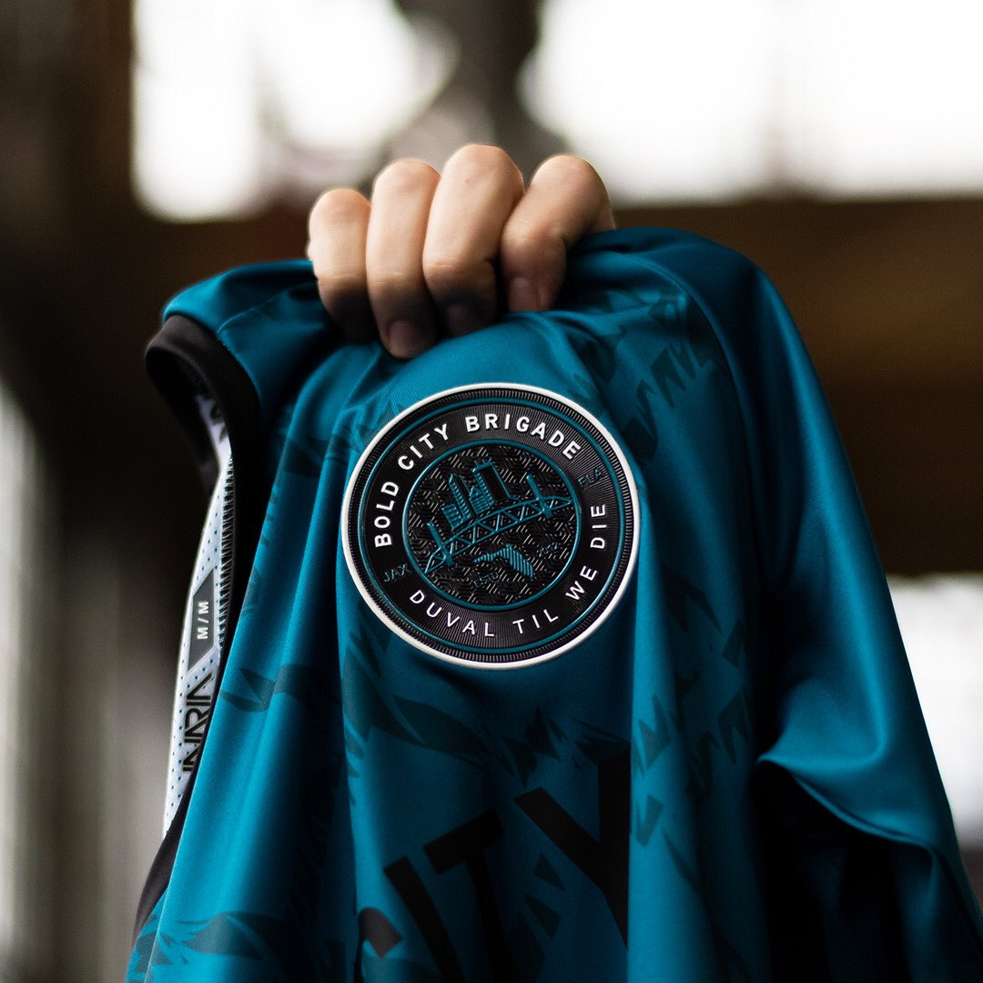 jaguars supporters group  BoldCityBrigade drop this limited edition piece.  Now available on their site. Link in their IG bio.  inariasoccerpic.twitter.com   ... 49e2ce5dd