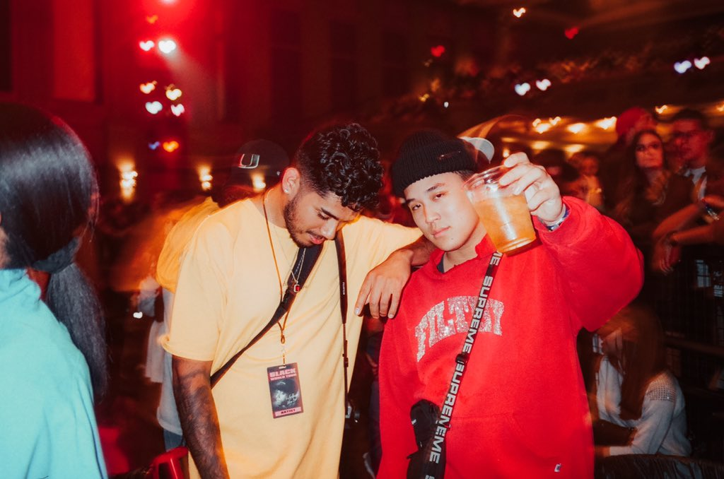 The only photo I took while on tour, s/o @tdangy. Keep inspiring others brother. 📸: @jquanli #MIAMIFAMILY #EALL