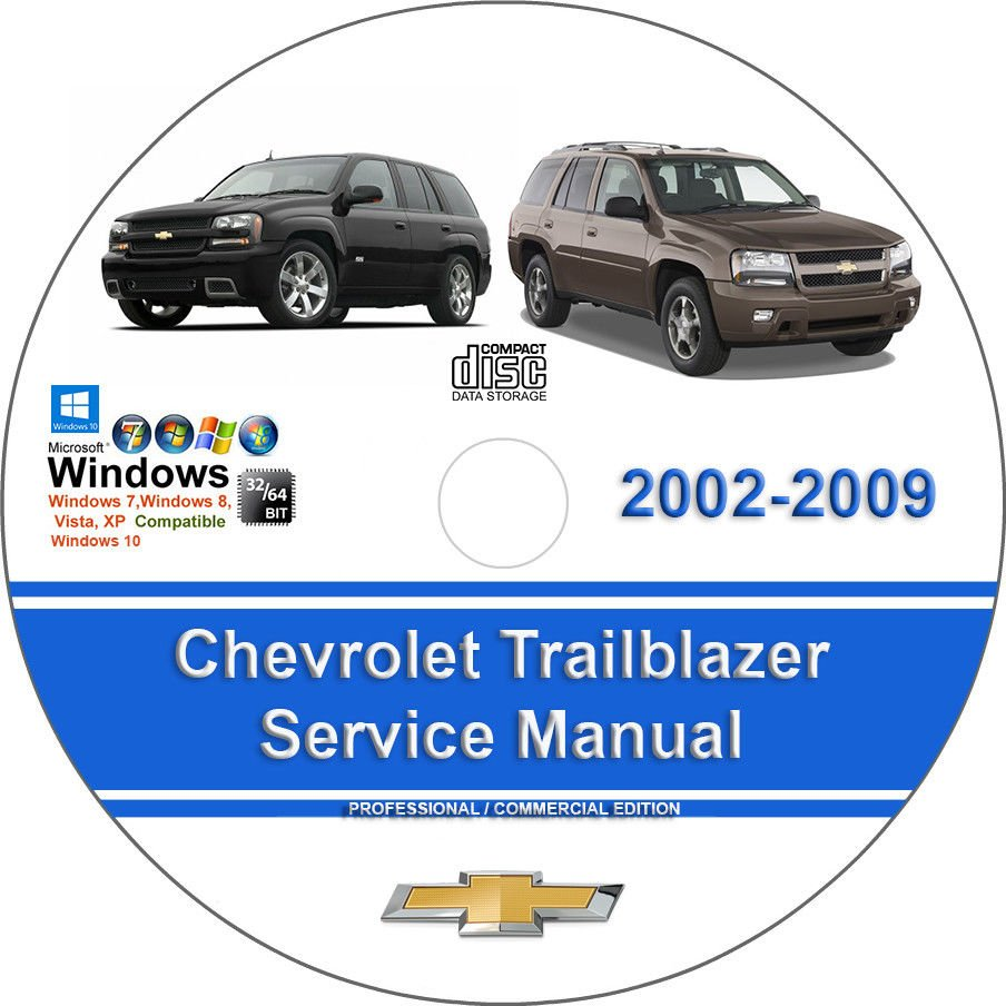 2008 chevrolet trailblazer manual