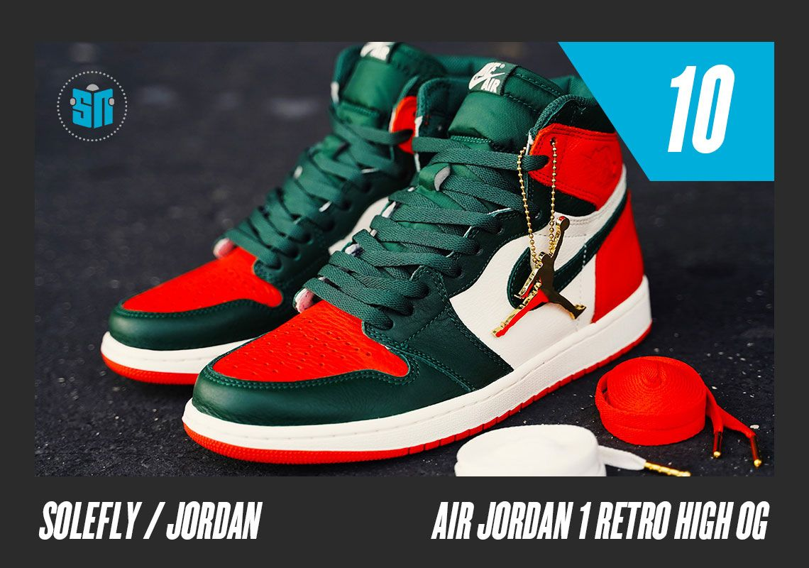 a5e15011282e The top sneakers of the year lists continue with our ten best Jordans of  2018 https   snkrne.ws 2BFombc pic.twitter.com sOs4Q9FztL