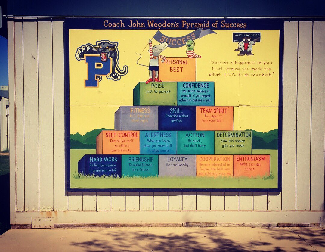 Harper For Kids On Twitter Beautiful Pyramid Of Success Murals