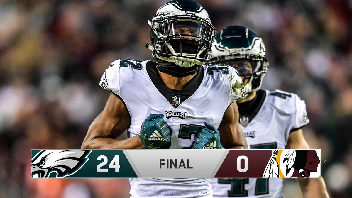 VICTORY!  #FlyEaglesFly