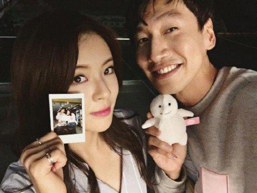 Lee Sun Bin dan Lee Kwang Soo
