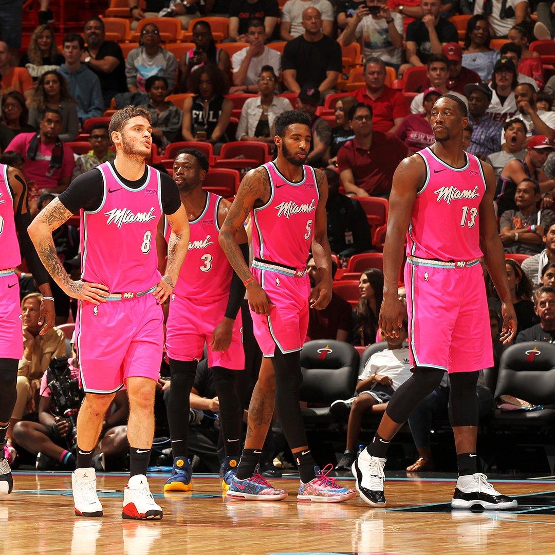 Slam Kicks On Twitter The Miami Heat Putting On A Sneaker Showcase Tonight Bam1of1 Therea1djones