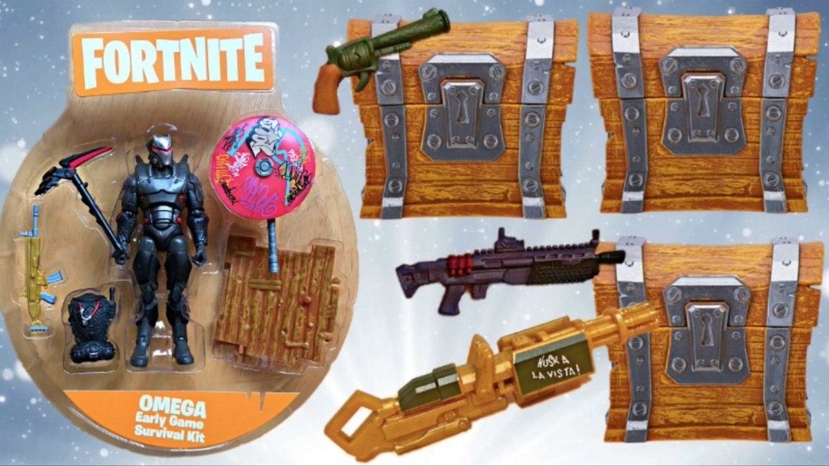 Lily On Twitter More Fortnite Loot Chest Toys Wet Paint