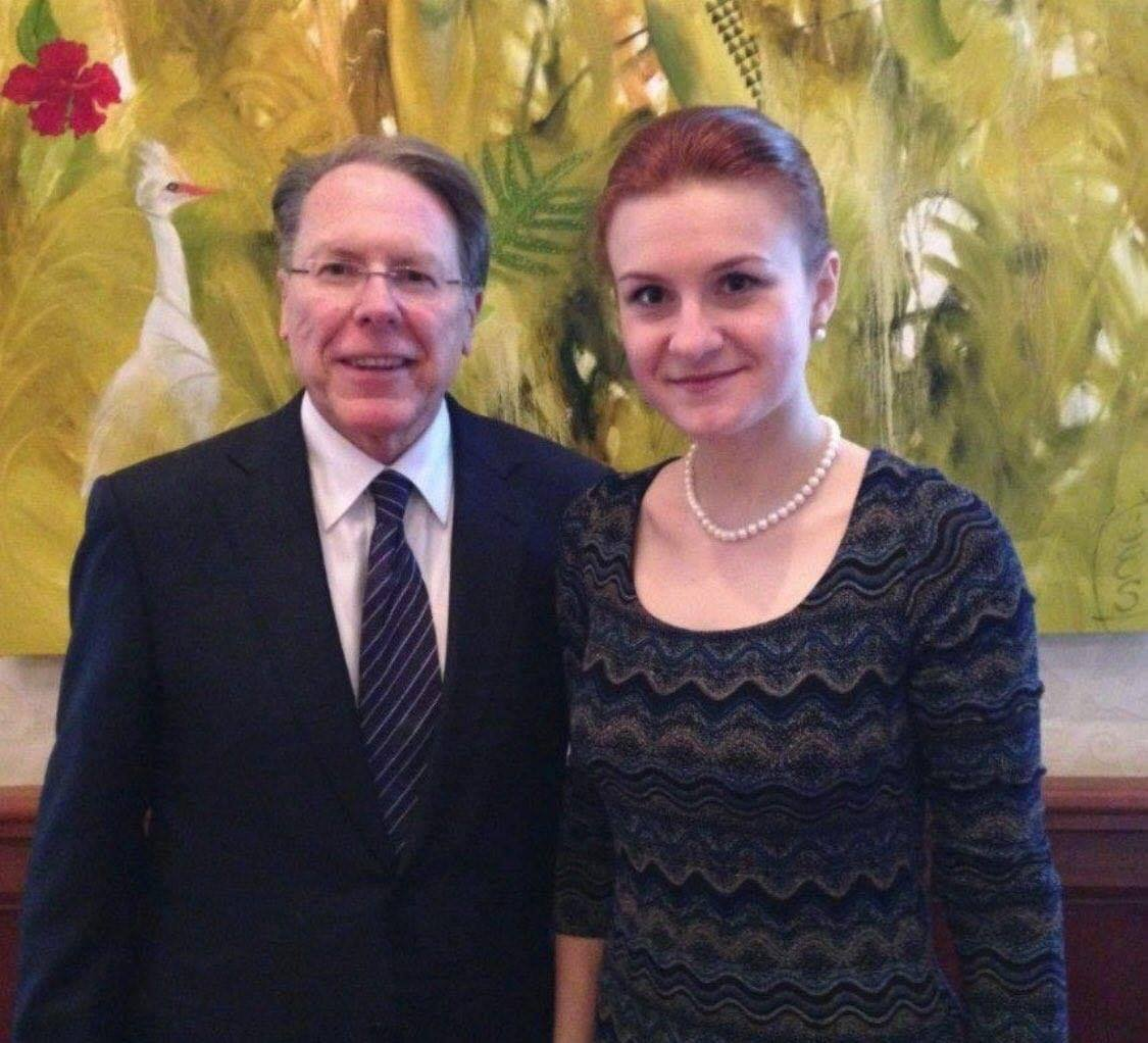 Whatever you do, DO NOT SHARE this photo of NRA CEO Wayne LaPierre with Russian agent Maria Butina. Apparently, Wayne wants it removed from the internet.