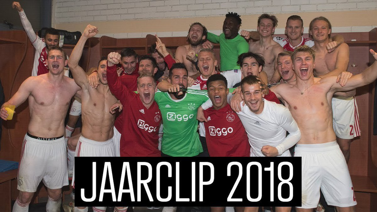 THIS WAS OUR 2018! 🔥  #wijzijnajax