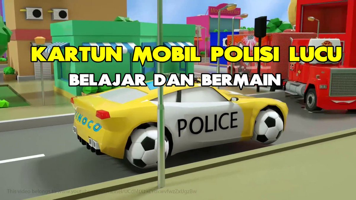 Gambar Kartun Mobil Polisi Gambar Mania Classy World
