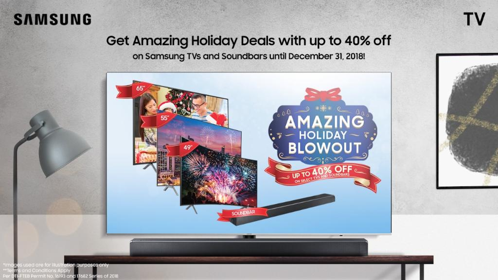 ... deals from Samsung and get up to 40% off on select Samsung TVs and  soundbars. Read the full story here  http   spr.ly SN50  pic.twitter.com adklx40274 9a9396756d15