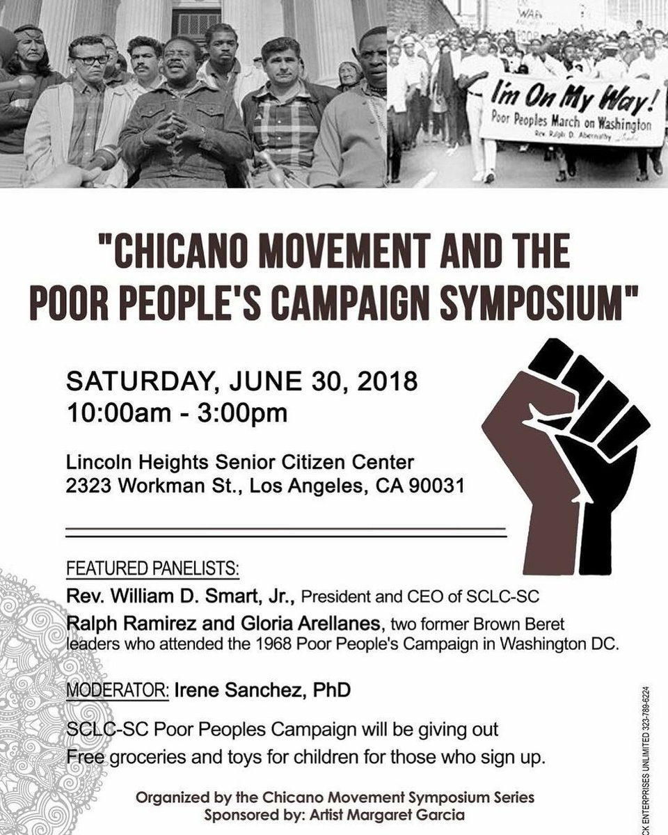 be35853240a35 ... the Brown Berets Involvement in the  poorpeoplescampaign if y all don t  know about it especially the work of  RevDrBarber please look it up   brownberets ...