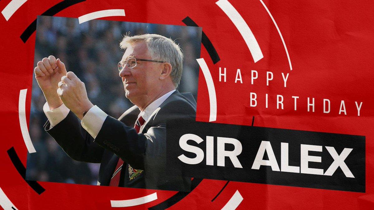 Happy birthday to an #MUFC legend! 🎁