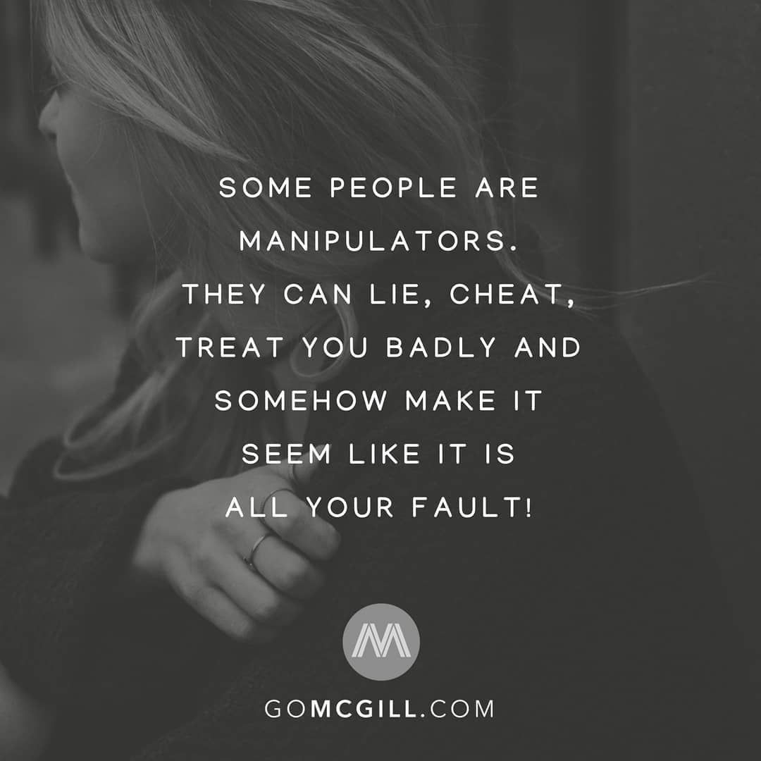 Mcgill Media On Twitter Some People Are Manipulators They Can Lie
