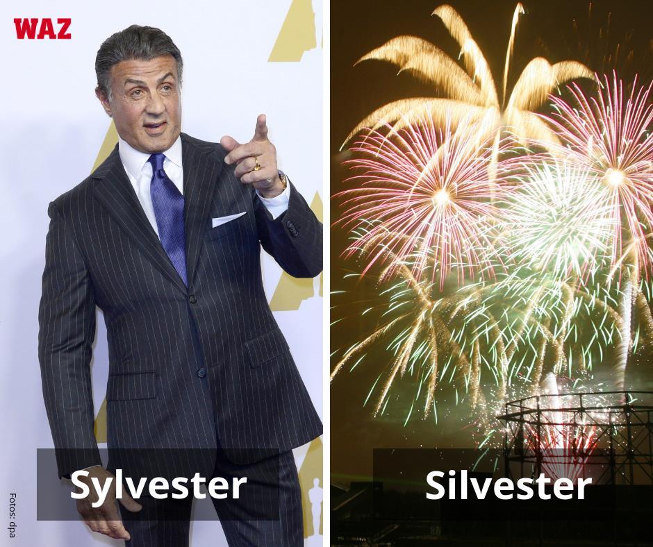 Sylvester Stallone Steht Vor Der Tür